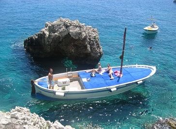 Gianni's Boat in Capri
