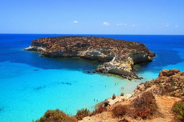 Spiaggia Dei Conigli In Lampedusa