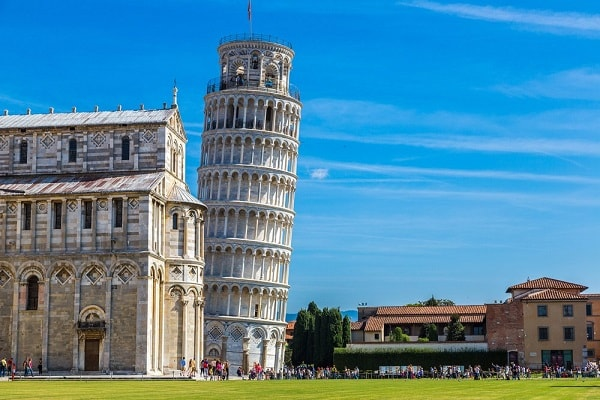 Tower of Pisa in Pisa